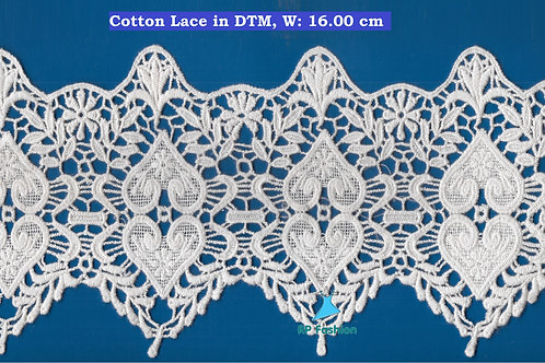 16 cm Cotton DTM Lace
