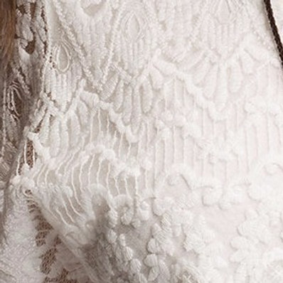 Water Soluble Polyester Lace used in T-Shirt