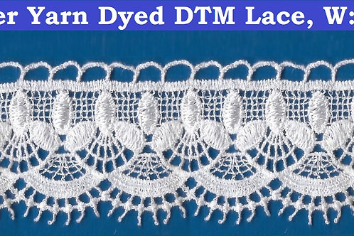 Bright Polyester DTM Lace