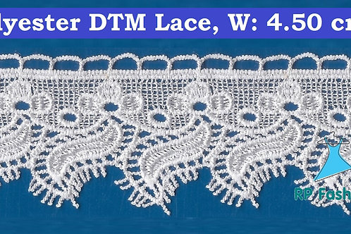 Lace Ornament with Silk Yarn