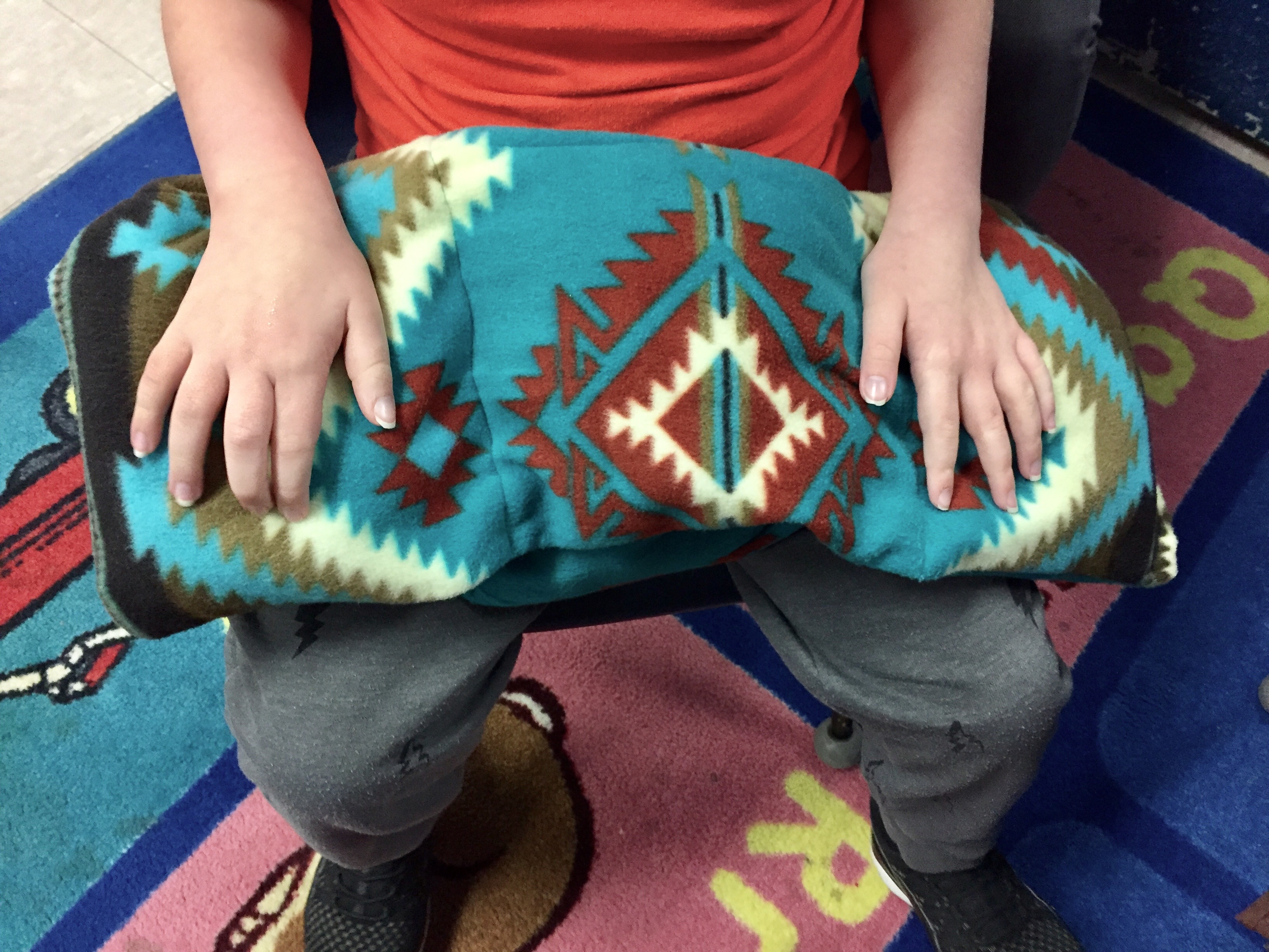 Music therapy, DIY weighted lap pads