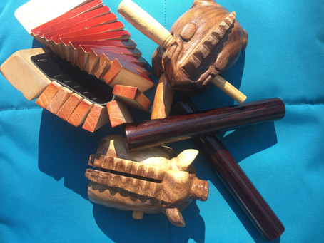 Music therapy: reaching developmental goals through small percussion