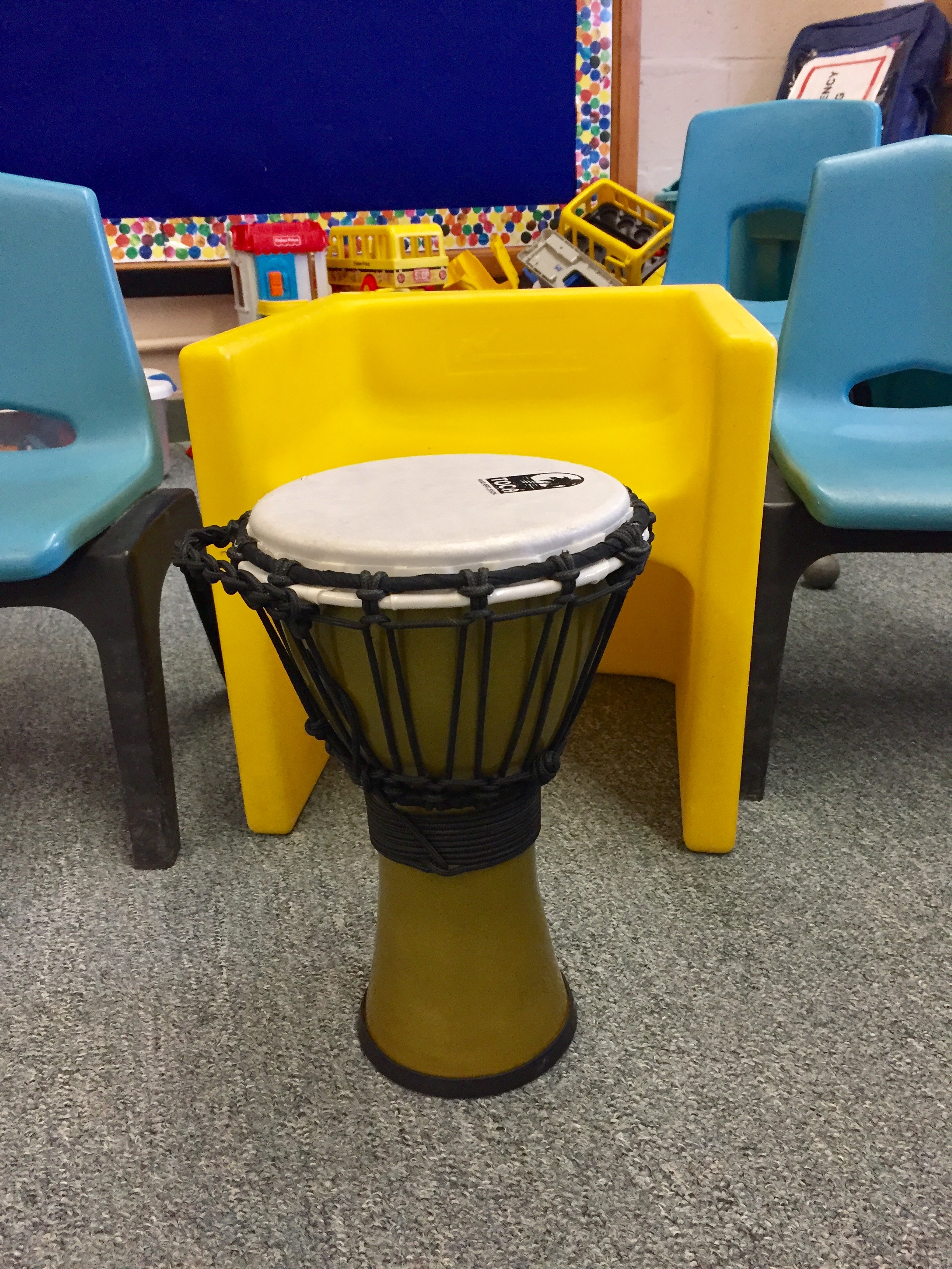 Music therapy, drumming