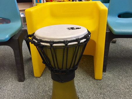 Music therapy: Drumming in the classroom