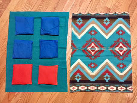 Music therapy: DIY weighted lap pads