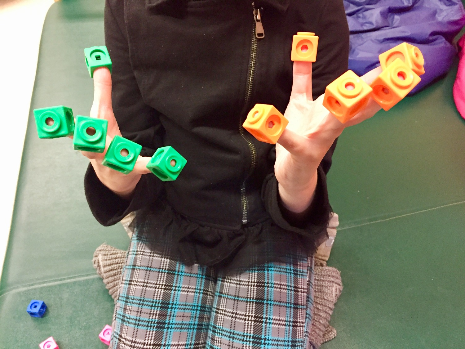 Music therapy, fine motor, counting