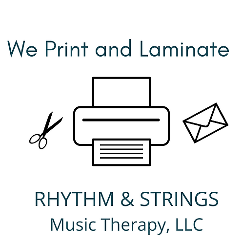 Have your product printed and laminated!