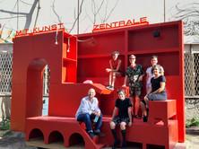 An der Ausstellung beteidiget Künstler*innen: Gary Hurst, Michelle-Marie Letelier, Marcela Moraga, Erik Göngrich, Valeria Fahrenkrog und Secil Yersel (von links nach rechts)