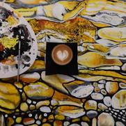 Coffee on Zokki art
