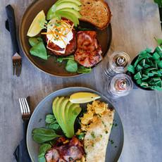 Veggie Stack/Breakfast crepe