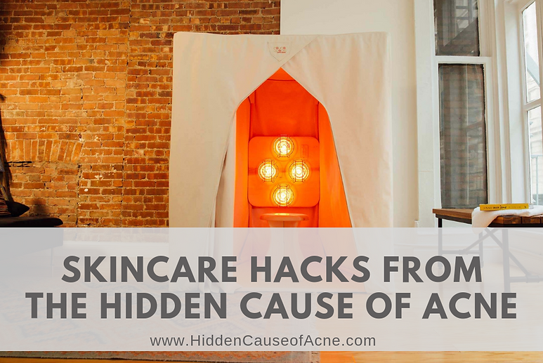 Skincare Hacks from The Hidden Cause of