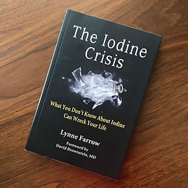 The Iodine Crisis by Lynne Farrow for fluoride detoxification