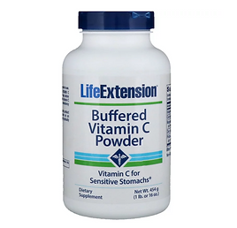 Buffered Vitamin C Powder for iodine supplementation and fluoride detox