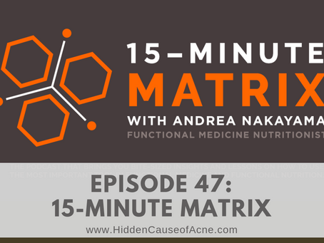 Andrea Nakayama from the 15-Minute Matrix Interviews Melissa Gallico on Fluoride and Acne