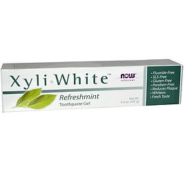 NowFoods XyliWhite fluoride-free toothpaste with xylitol