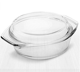 Simax borosilicate glass cookware non toxic fluoride free pots pans dishes