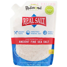 unrefined sea salt for iodine supplemention and fluoride detox