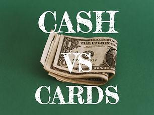 CARDS vs CASH for TRAVEL