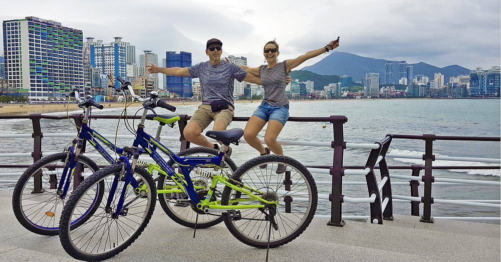 Free bicycles in Busan