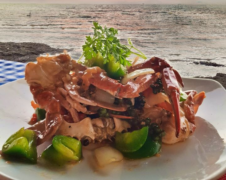 Kep Crab with Green Pepper