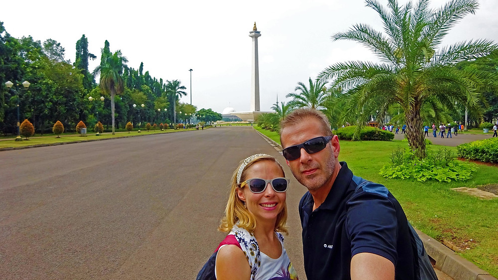 Masuk Monas is the National Monument of Indonesia