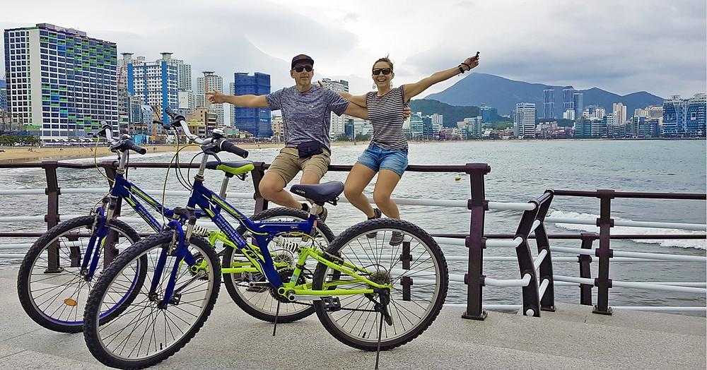 korea free bicycle rental busan