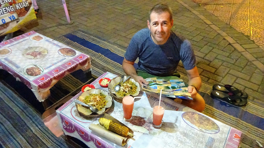 Market food in Banyuwangi
