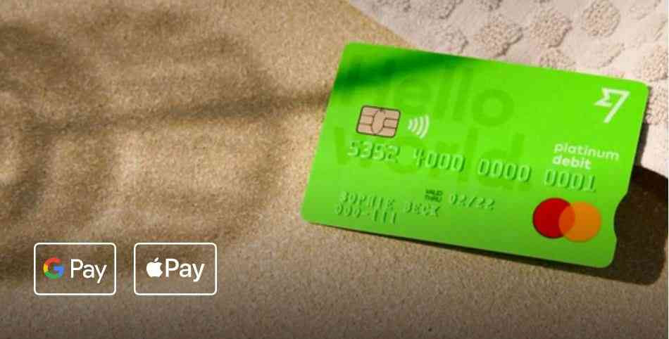 Tap or swipe anywhere — and use Google Pay and Apple Pay in supported countries.