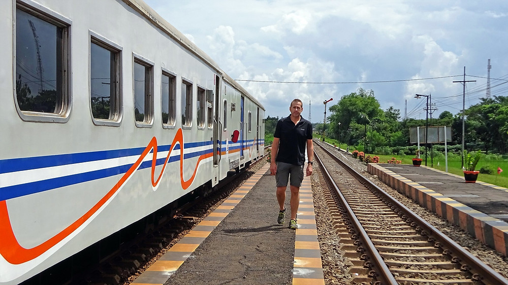 Train from Surakarta to Probolinggo
