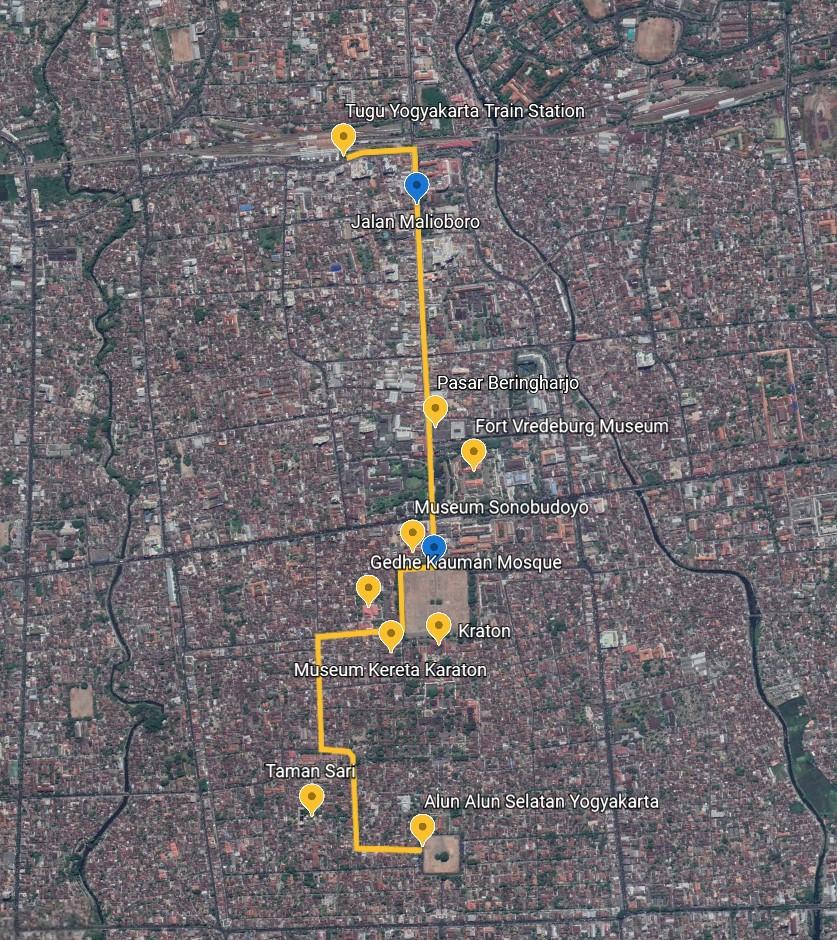 Yogyakarta Walking Tour