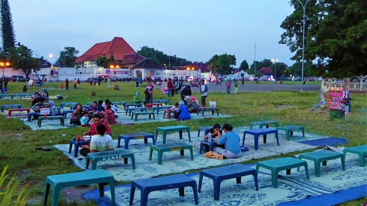 Yogyakarta night market