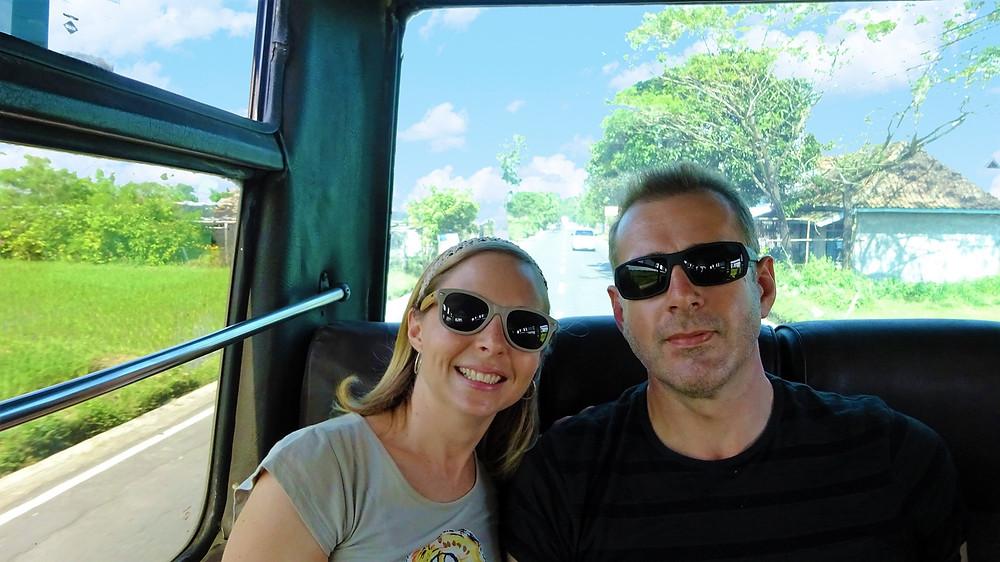 Bus from Yogyakarta to Borobudur