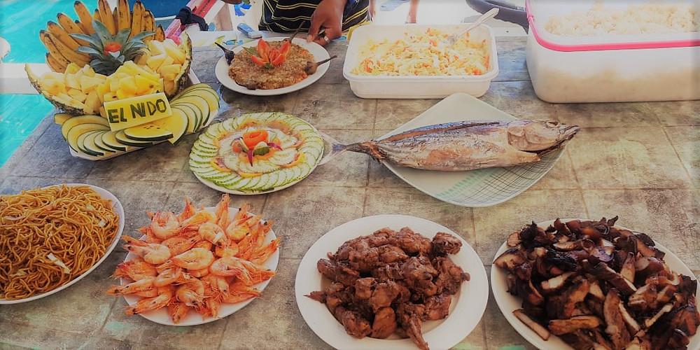 El Nido Island Hopping Tour Buffet Lunch