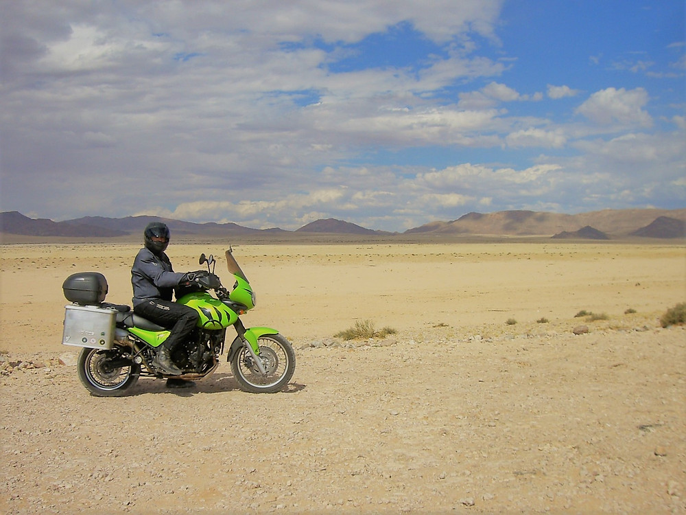 Touring NAMIBIA by motorcycle