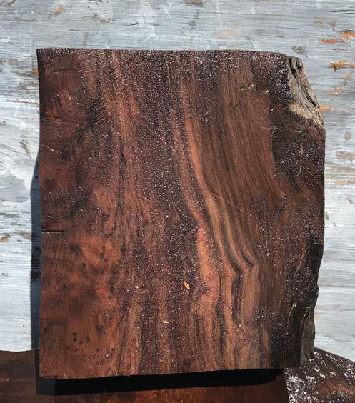 Wood turning blank, craft woods, black redwood burl, bl1045