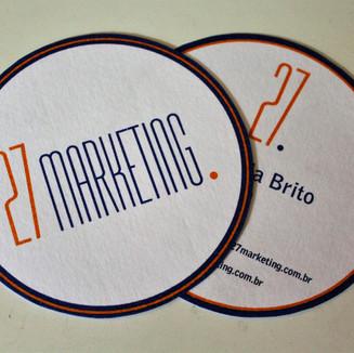 Cartão 27 Marketing
