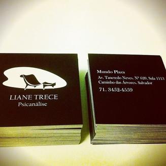 Cartão de visita Liane Trece