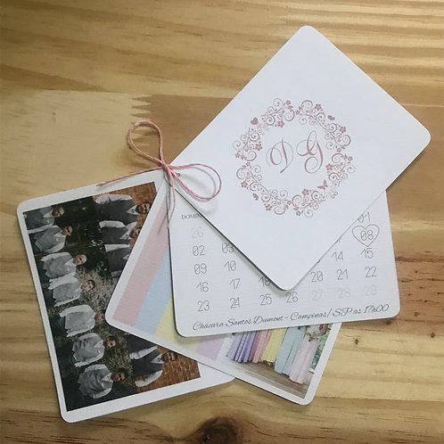 Manual para padrinhos com 4 cartões