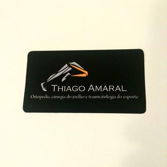 Cartão de visita Dr. Thiago Amaral