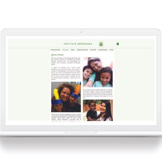 Site Instituto Amparando