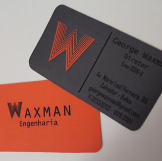 Cartão de visita Waxman Engenharia