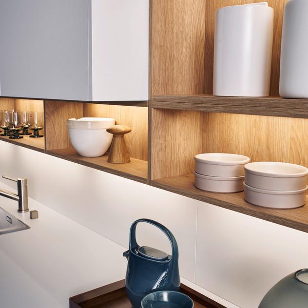 Leicht Bondi and Synthia cabinets