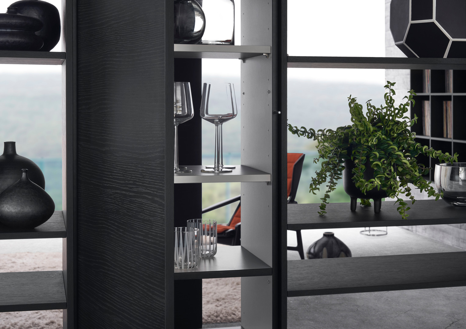 Leicht Topos living room display cabinet 2