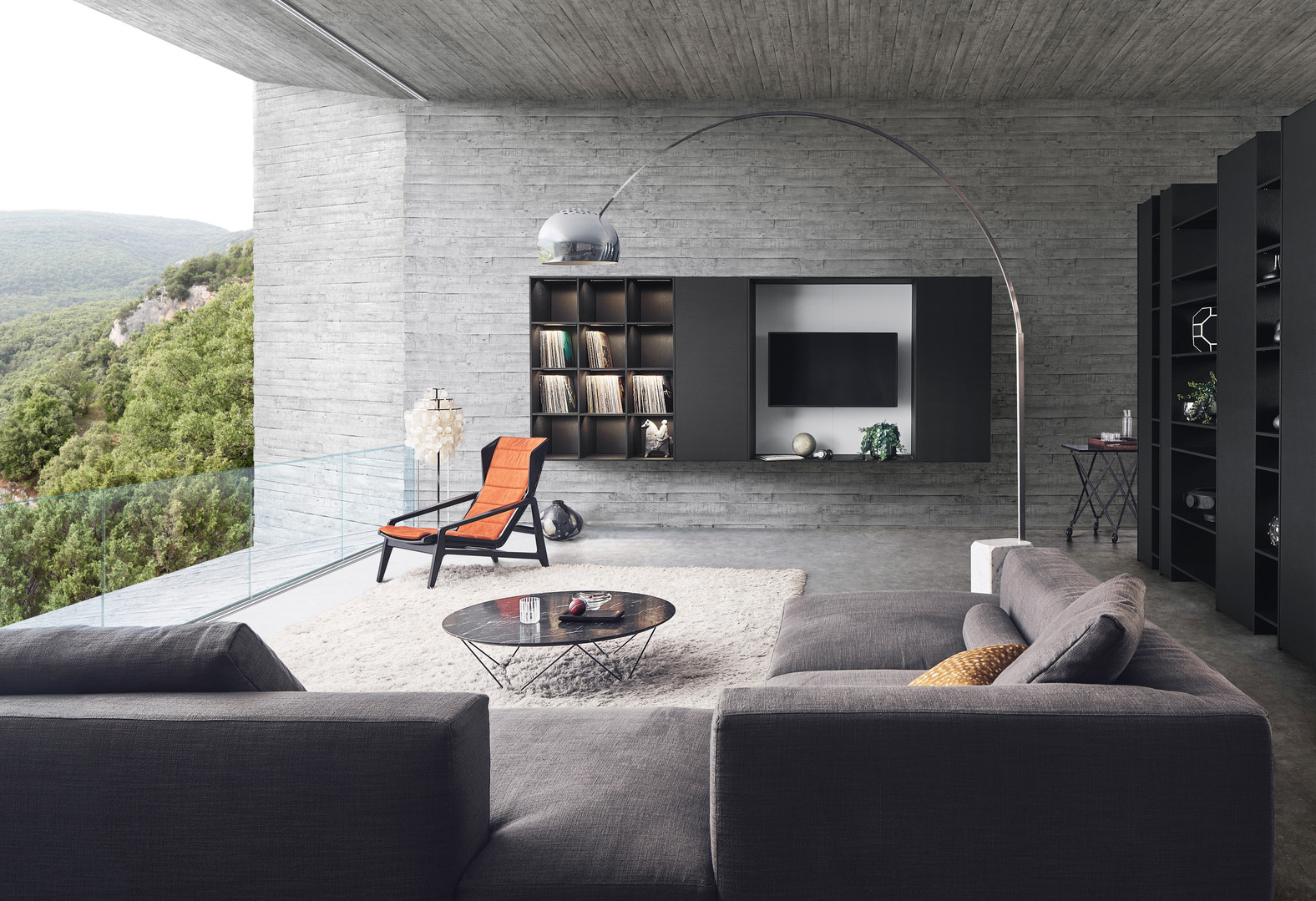 Leicht Topos living room