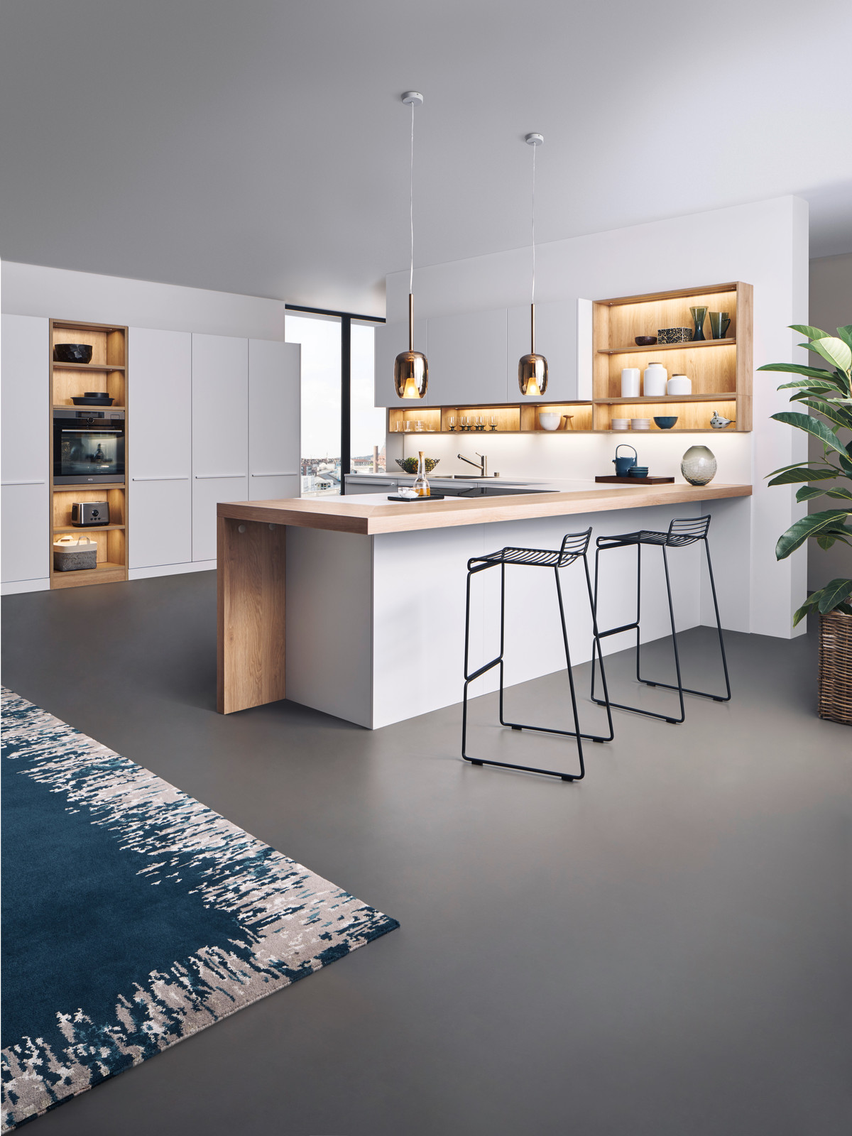 A Calm Kitchen Architecture Open To The Living Area As Well As Perfectly  Functional Details U2013 These Are The Characteristics Of A LEICHT Kitchen.