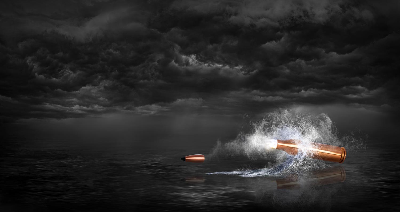 Storm Bullet fin