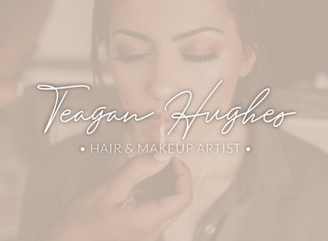 Teagan Hughes Hair and Makeup logo text only
