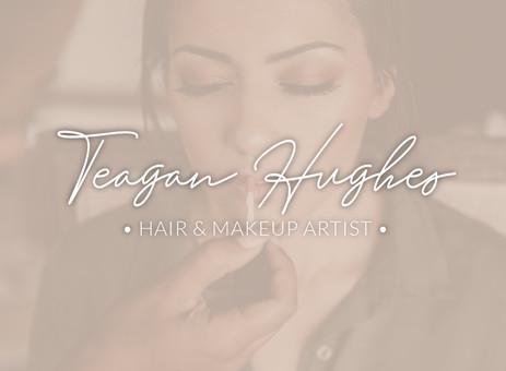 Teagan Hughes Hair and Makeup logo text only