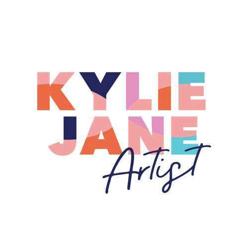 Kylie Jane Artist logo painter logo