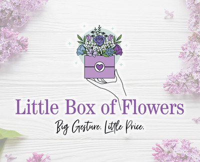 Little Box of Flowers florist and gift logo